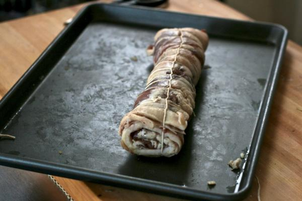 Tied-pancetta